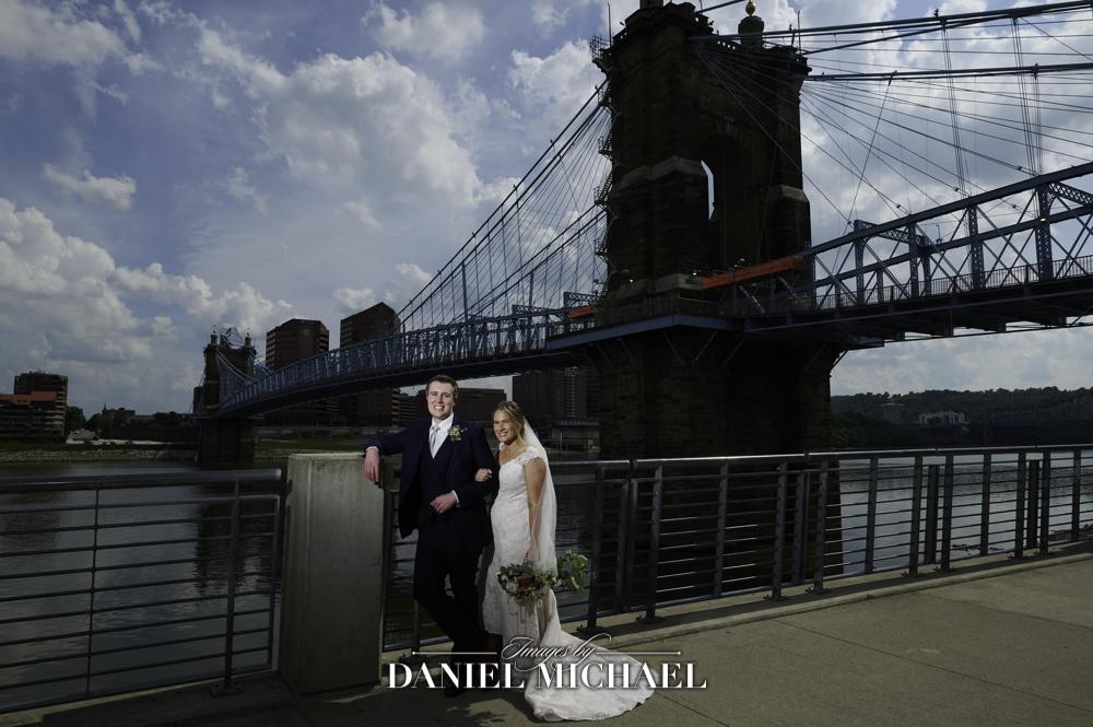 Roebling Bridge Wedding Photography