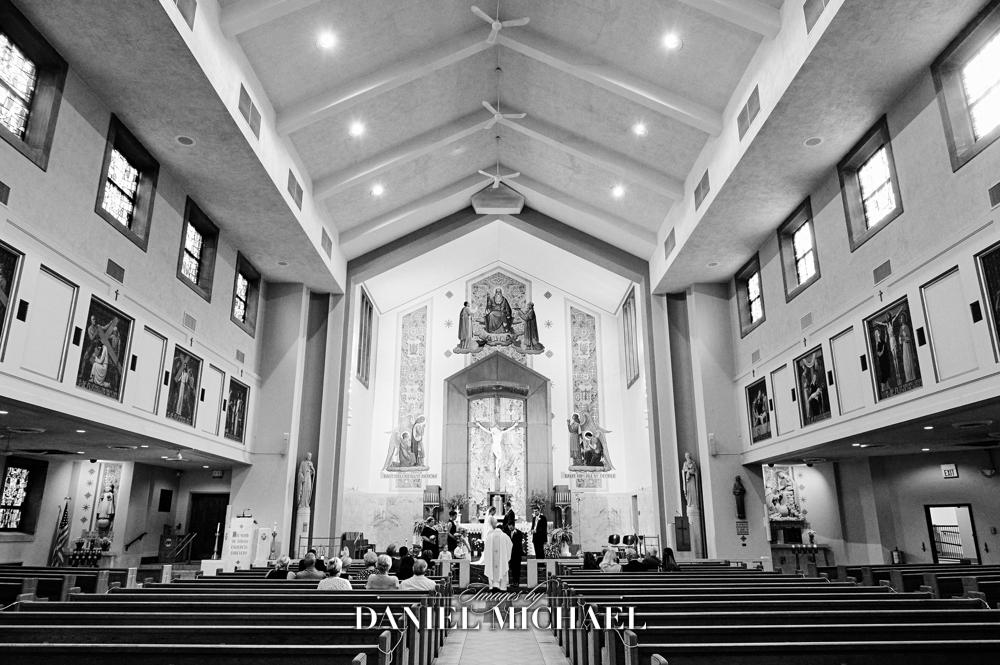 St Dominic Wedding Ceremony