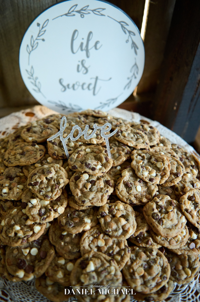Wedding Reception Cookie Table