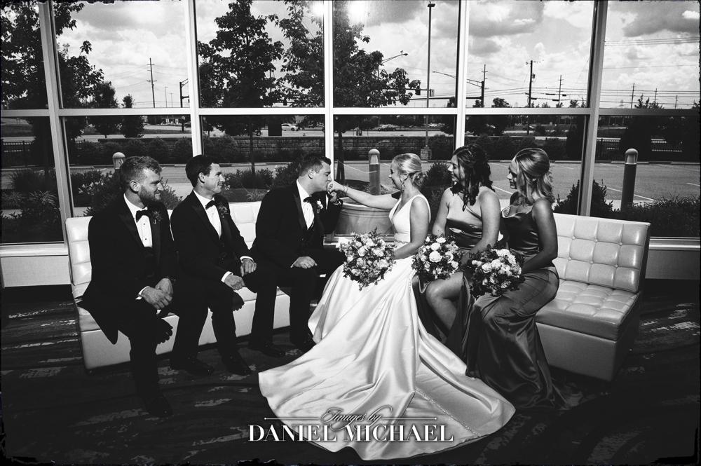Center Park Wedding Party Photography