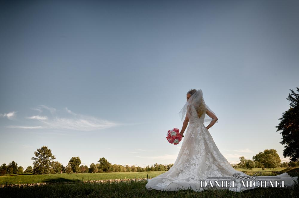 Bride at Stonelick Hills
