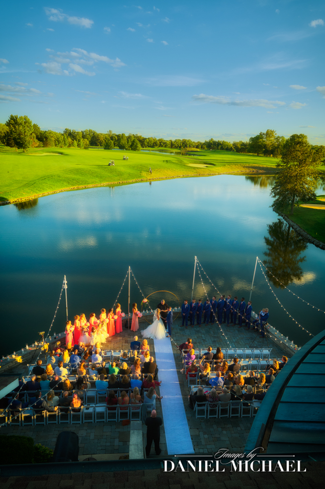 Stonelick Hills Golf Club Wedding Photography