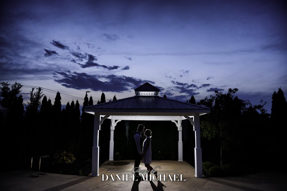 Wedding Photographer Sunset at Center Park