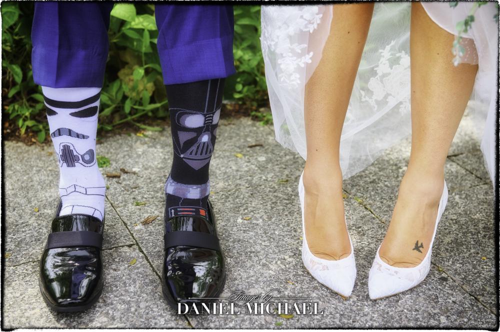 Wedding Star Wars Socks