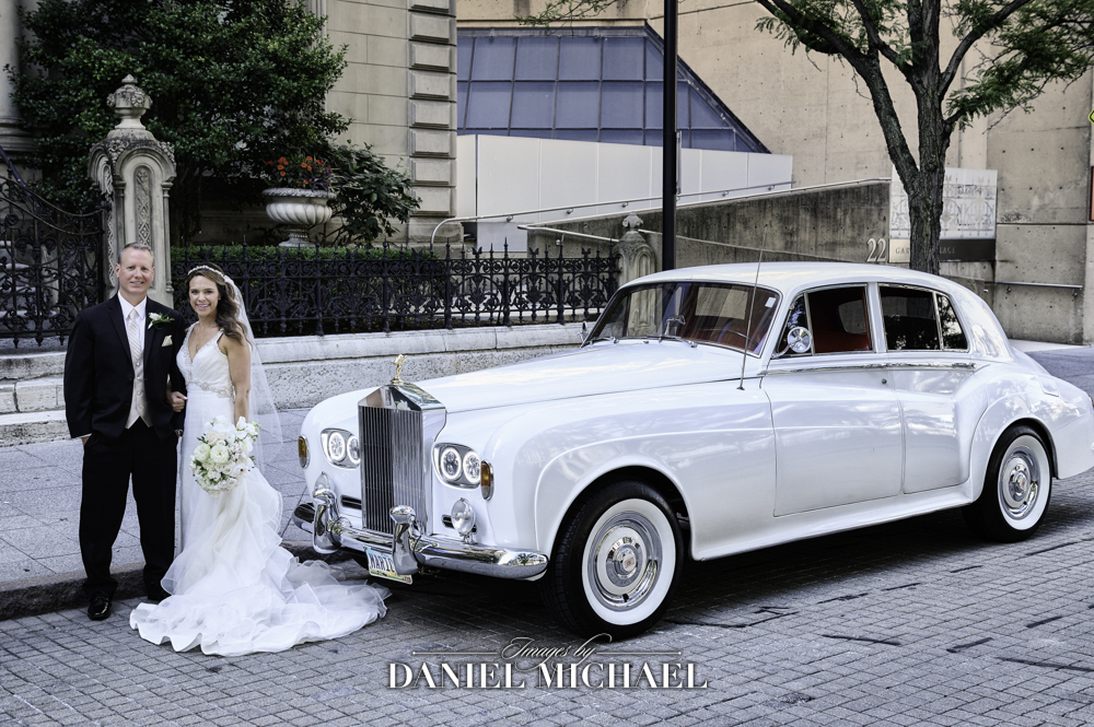 Wedding Photography with Vintage Rolls Royce