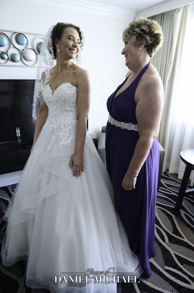 Mother Daughter Wedding Day Photo