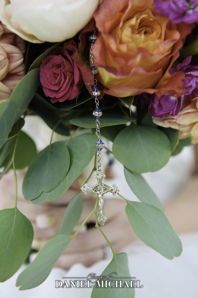 Rosary on Bouquet