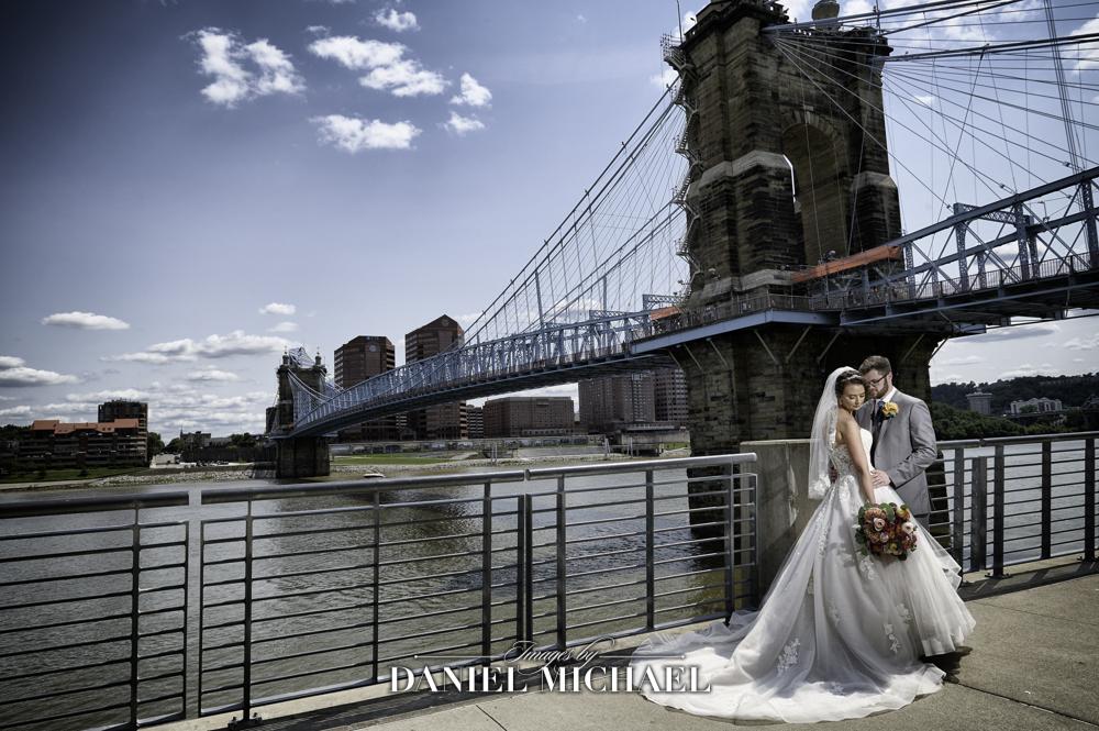 Roebling Bridge Wedding Photographer