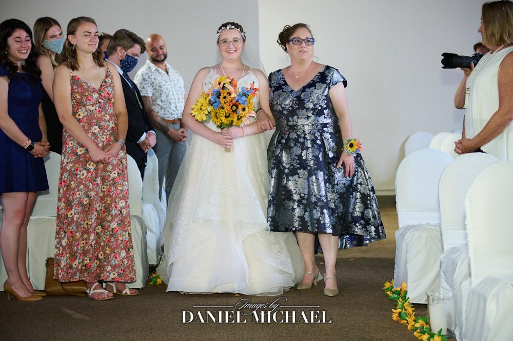 Bride Processional Madison Loft Wedding
