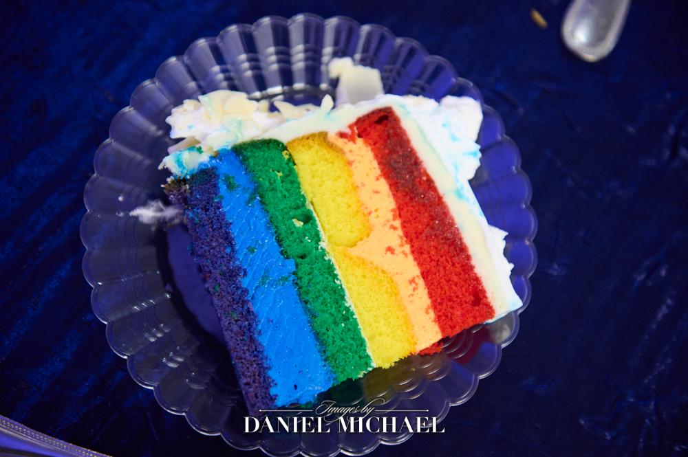 LGBTQ Rainbow Cake