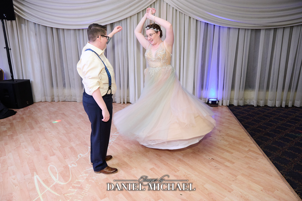 Rainbow Dress Twirl Photography