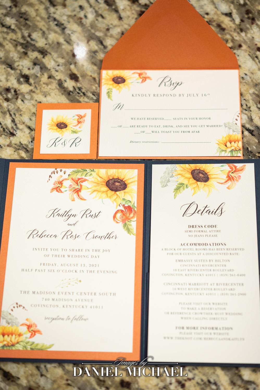 Posh Paper Wedding Stationary