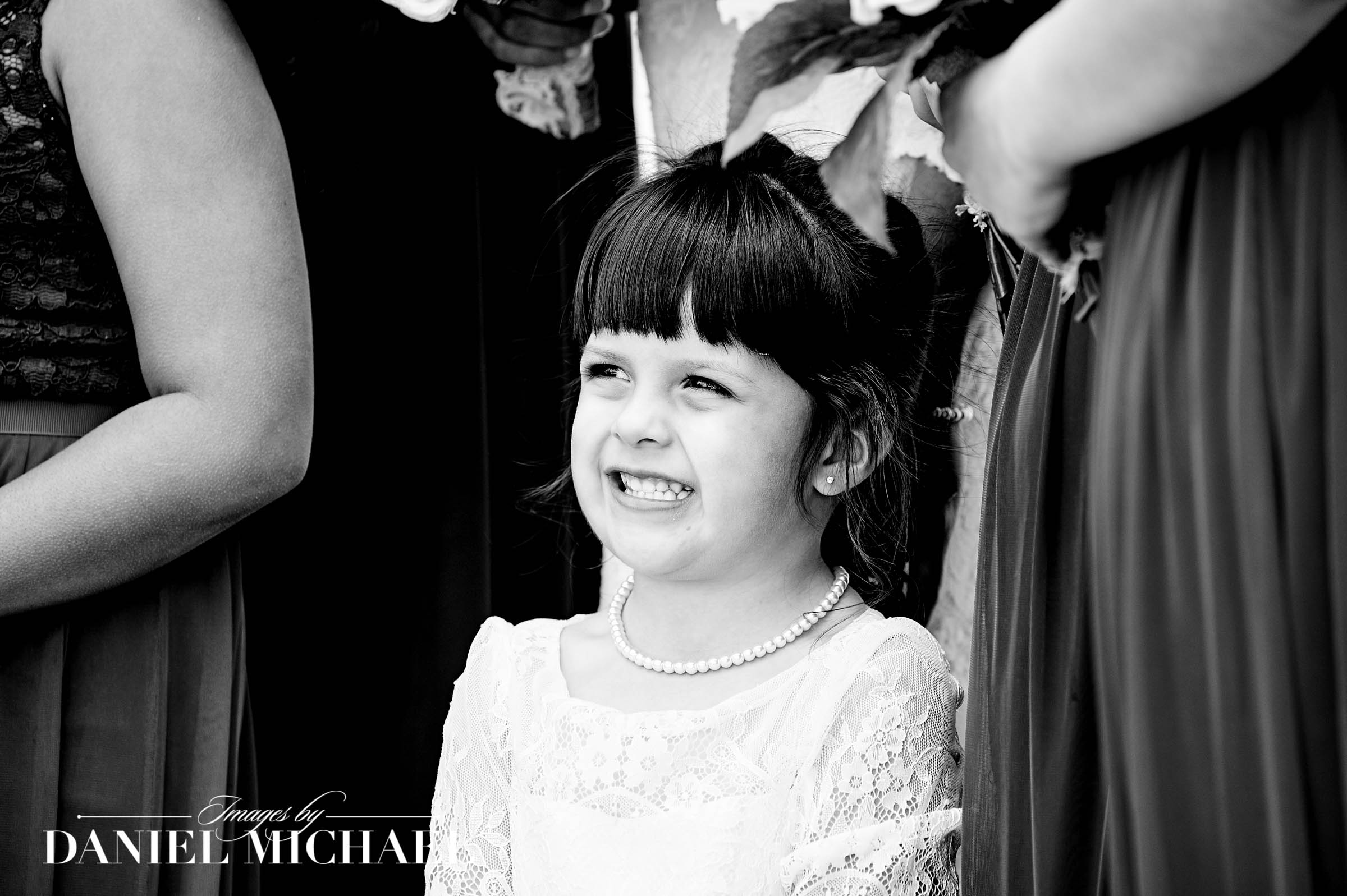 Flower Girl Wedding Photography