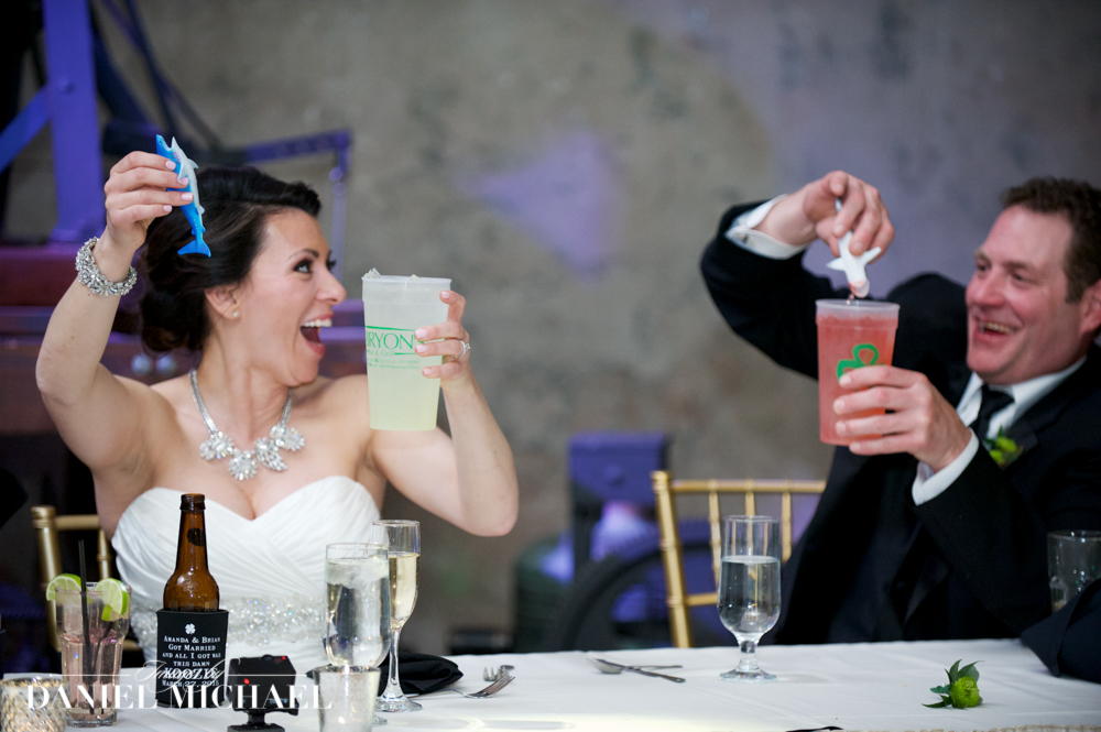 Shark Tank Wedding Toast