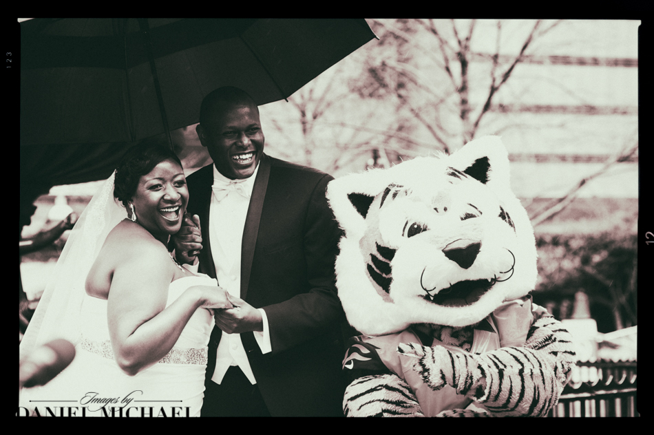 Who Dey Wedding Photos