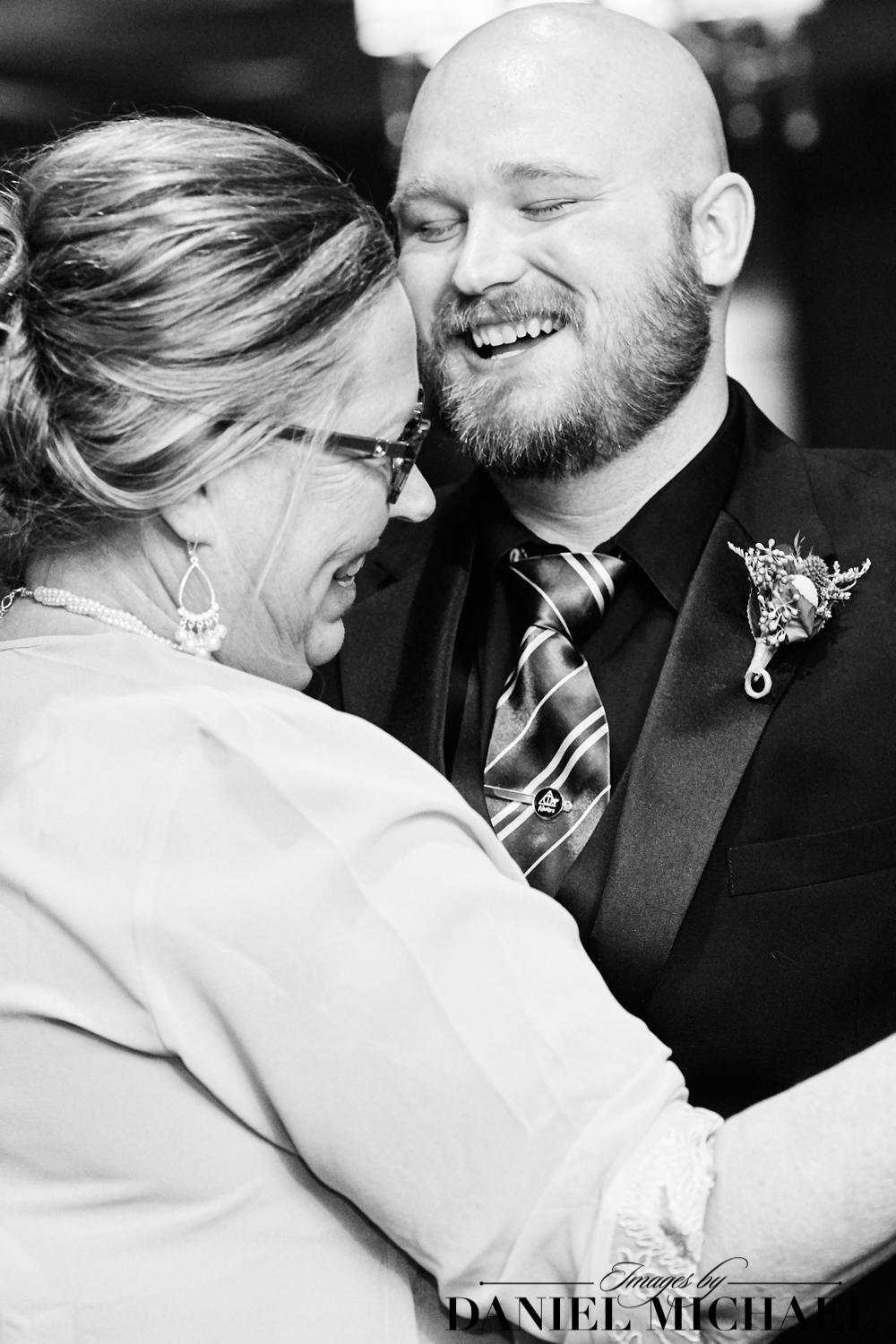 Mother Son Dance Natural Photo