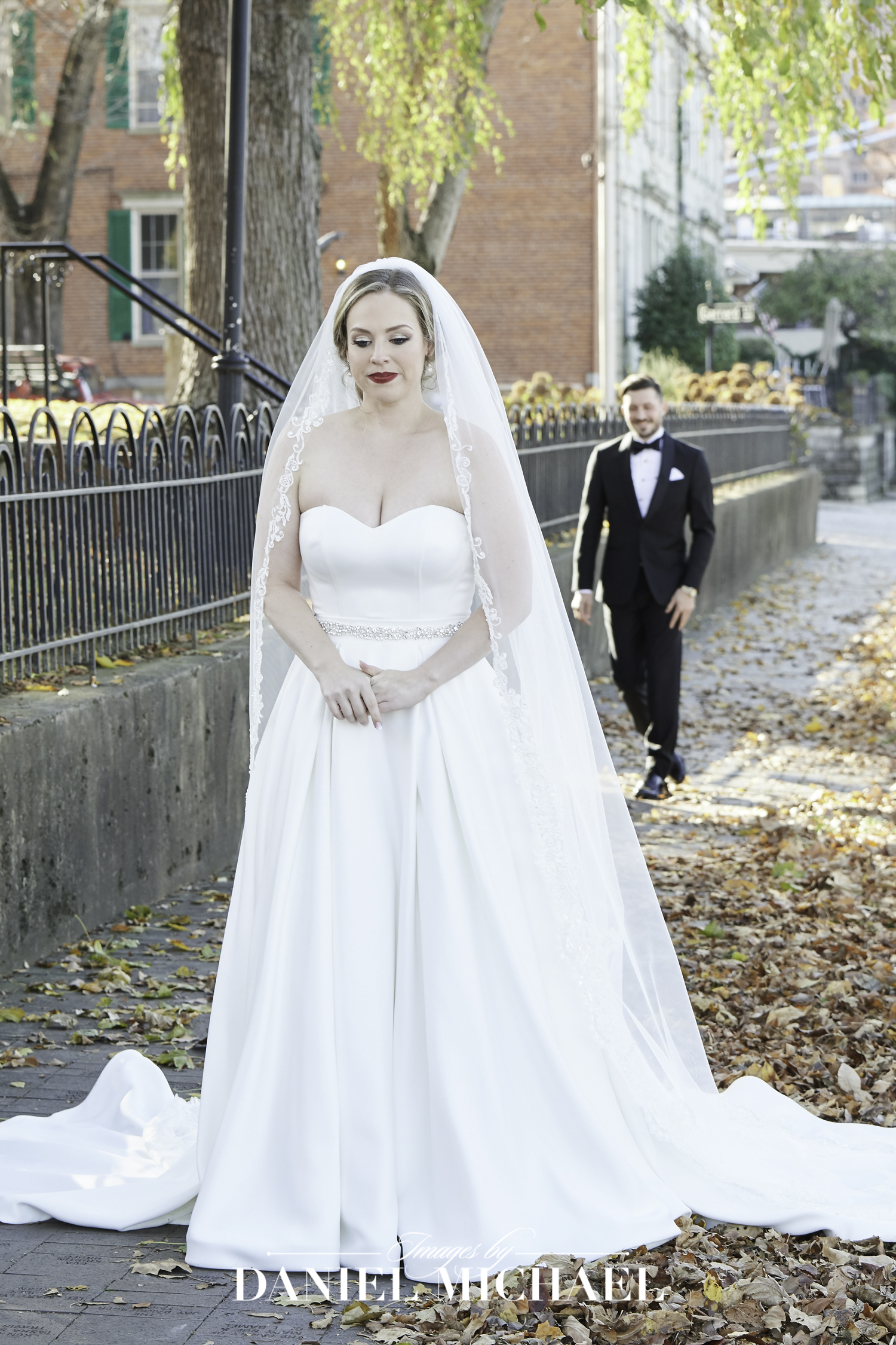 First Look Bridal Reveal