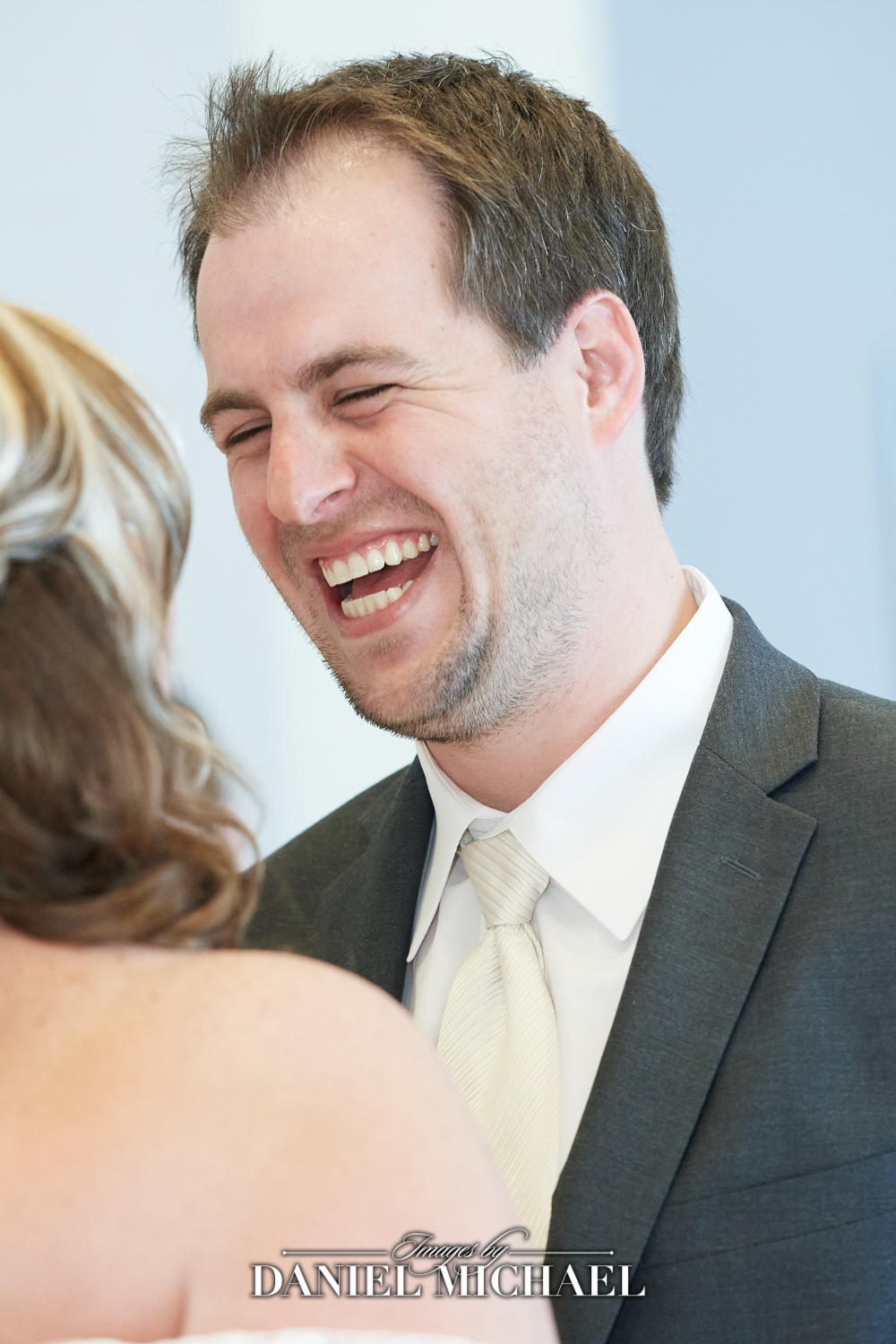 Groom Reactions during first look