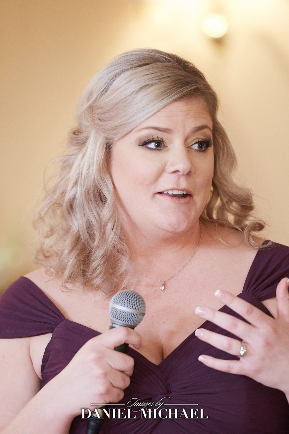 Maid of Honor Speech Photo