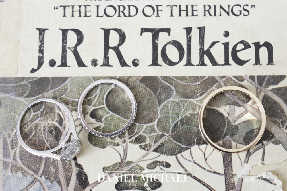 Tolkien Book Wedding Ring Photo