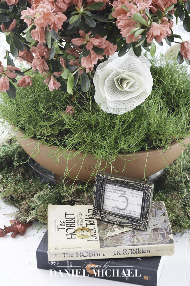 Books in Centerpieces
