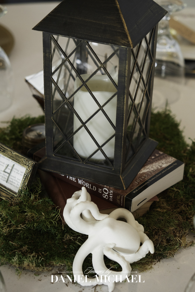Book Themed Wedding Centerpieces