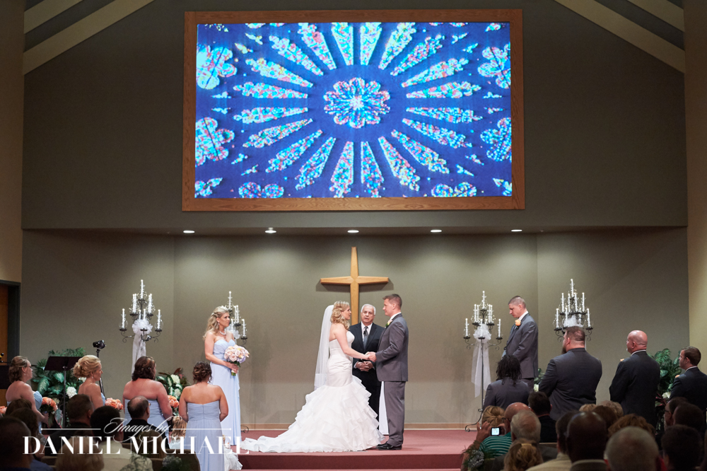 Christ Church Mason Wedding Photographers