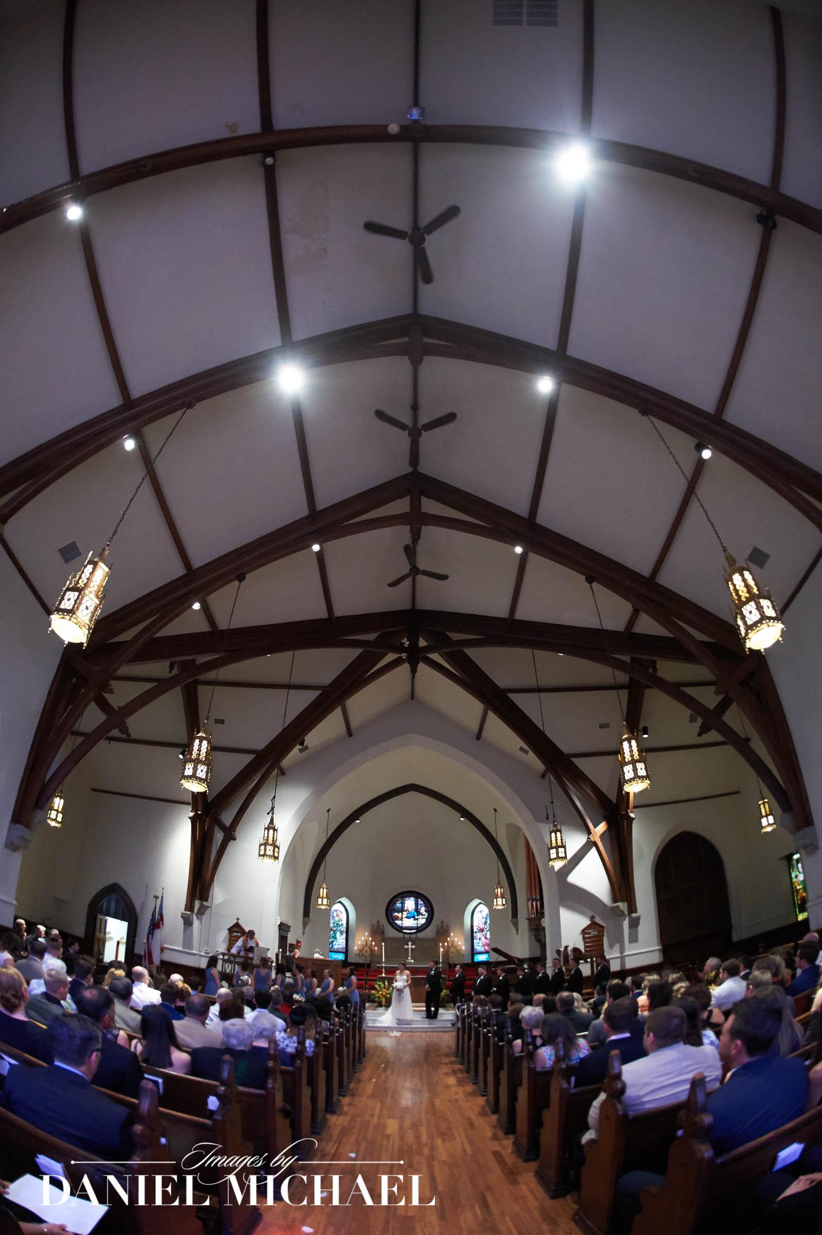 Calvary Episcopal Church Wedding