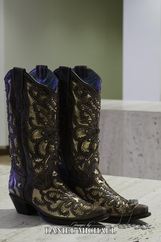 Cowboy Boot Wedding