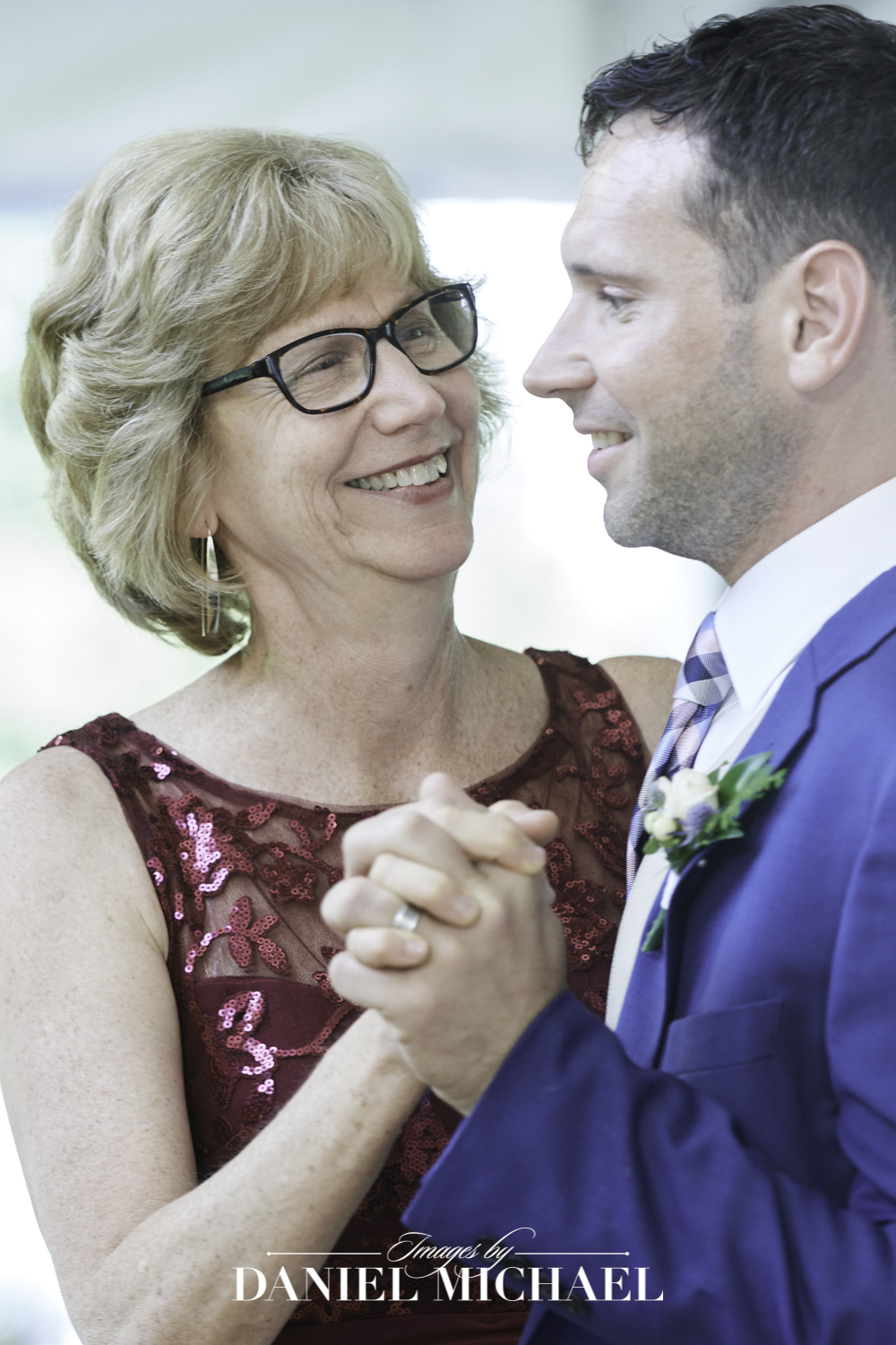 Mother Son Wedding Photography