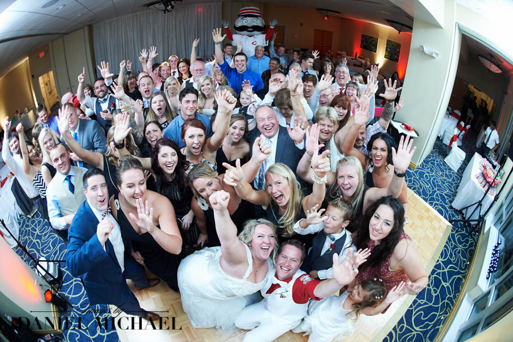 Wedding Reception Group Photo