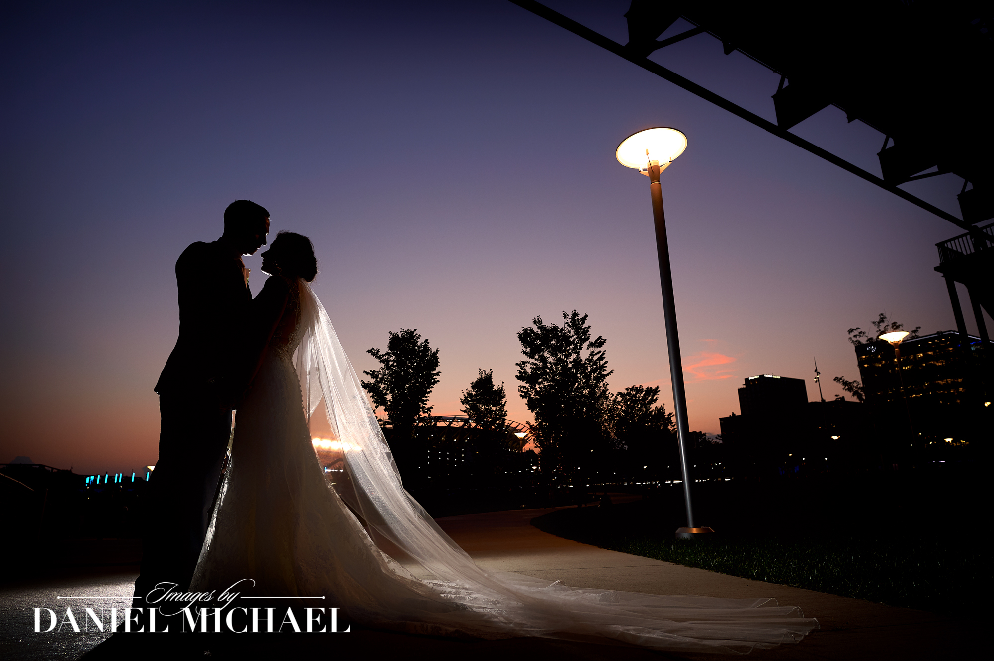 Wedding Photography Sunset Cincinnati