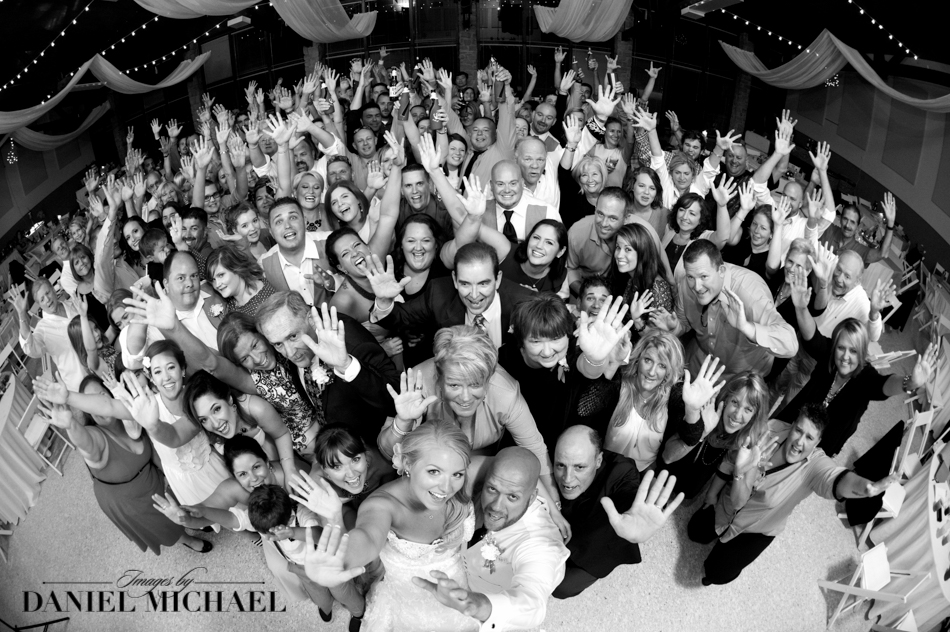 Group Photo Wedding Reception