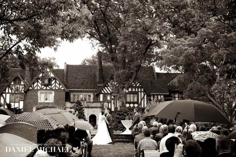 Wedding Ceremony Photography at Pinecroft