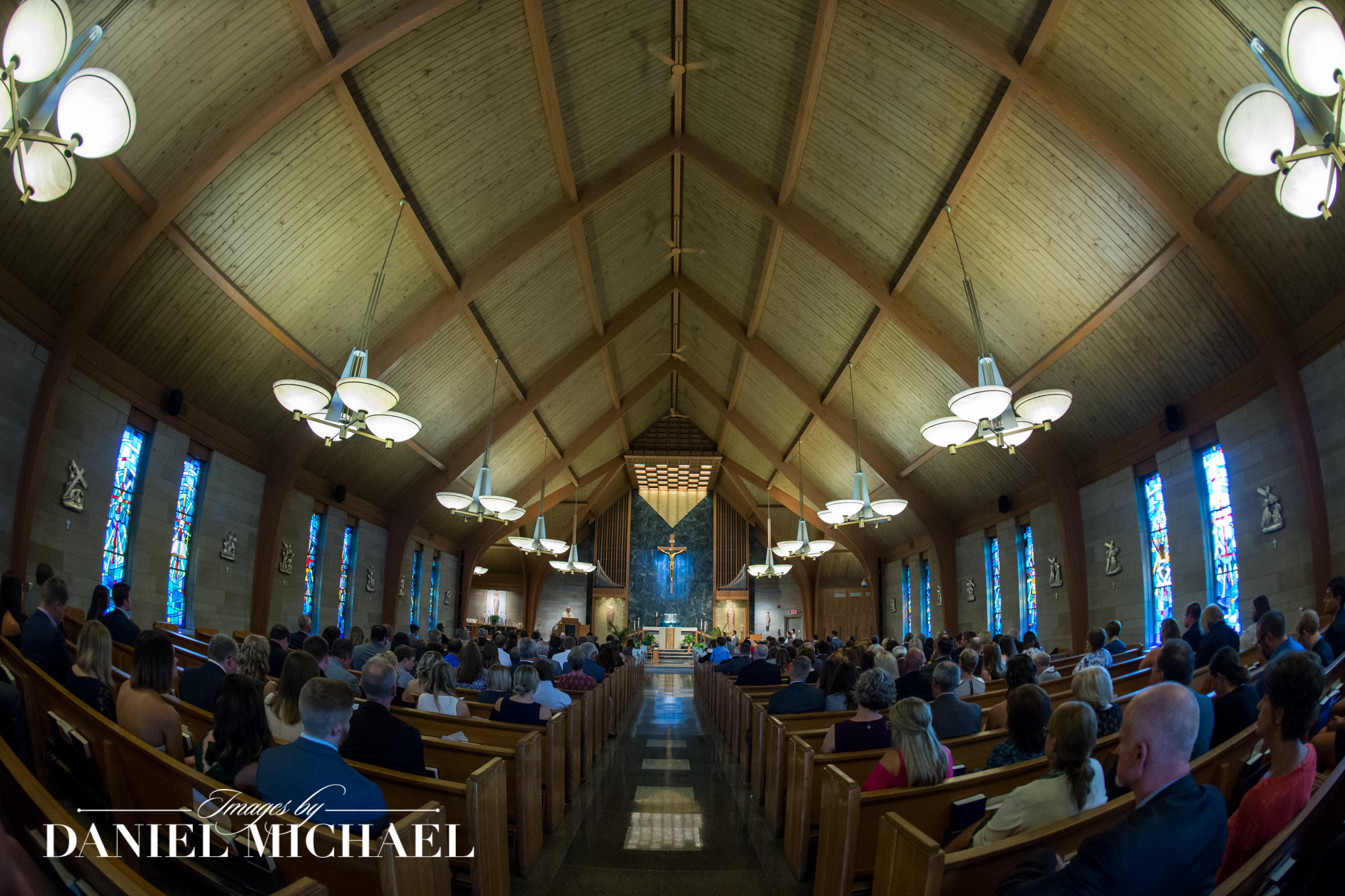 Our Lady of Visitation Wedding Photography