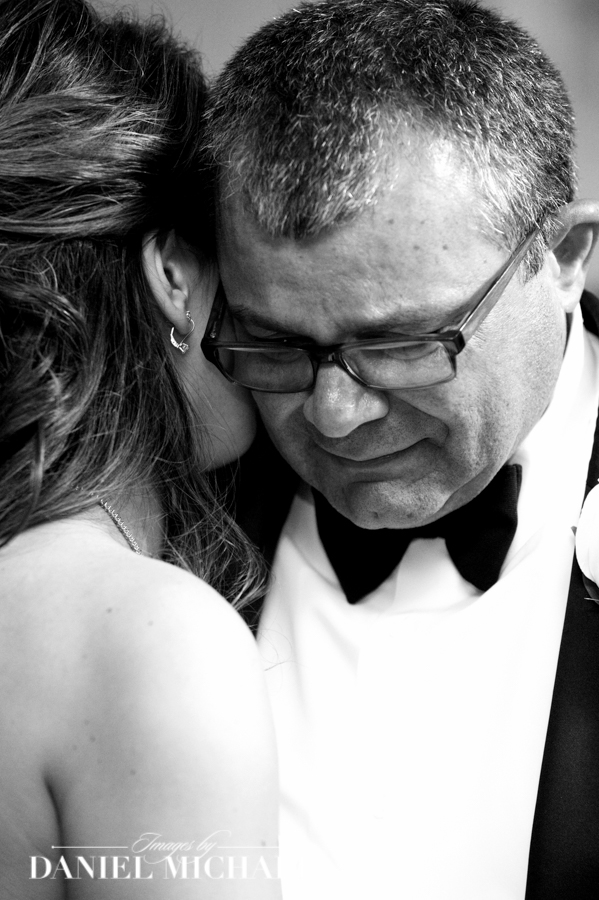 Father Emotional at Father Daughter Dance