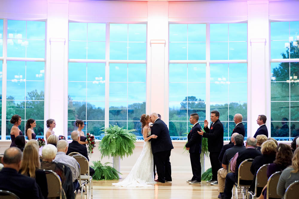 Cooper Creek Wedding ceremony