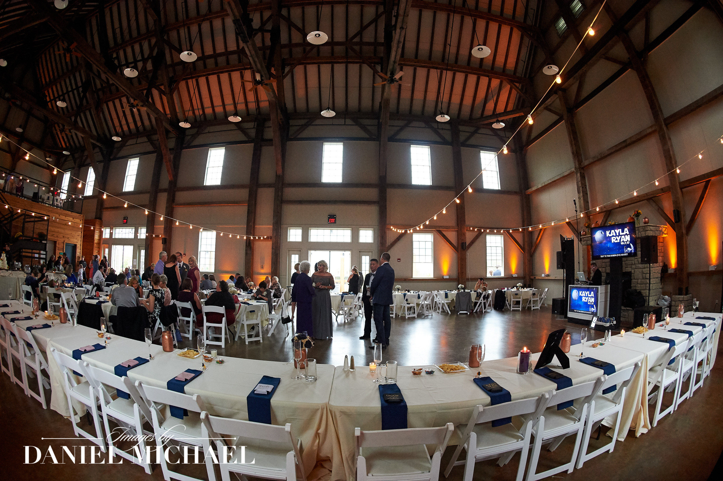 Mulhauser Barn Wedding Reception Phot
