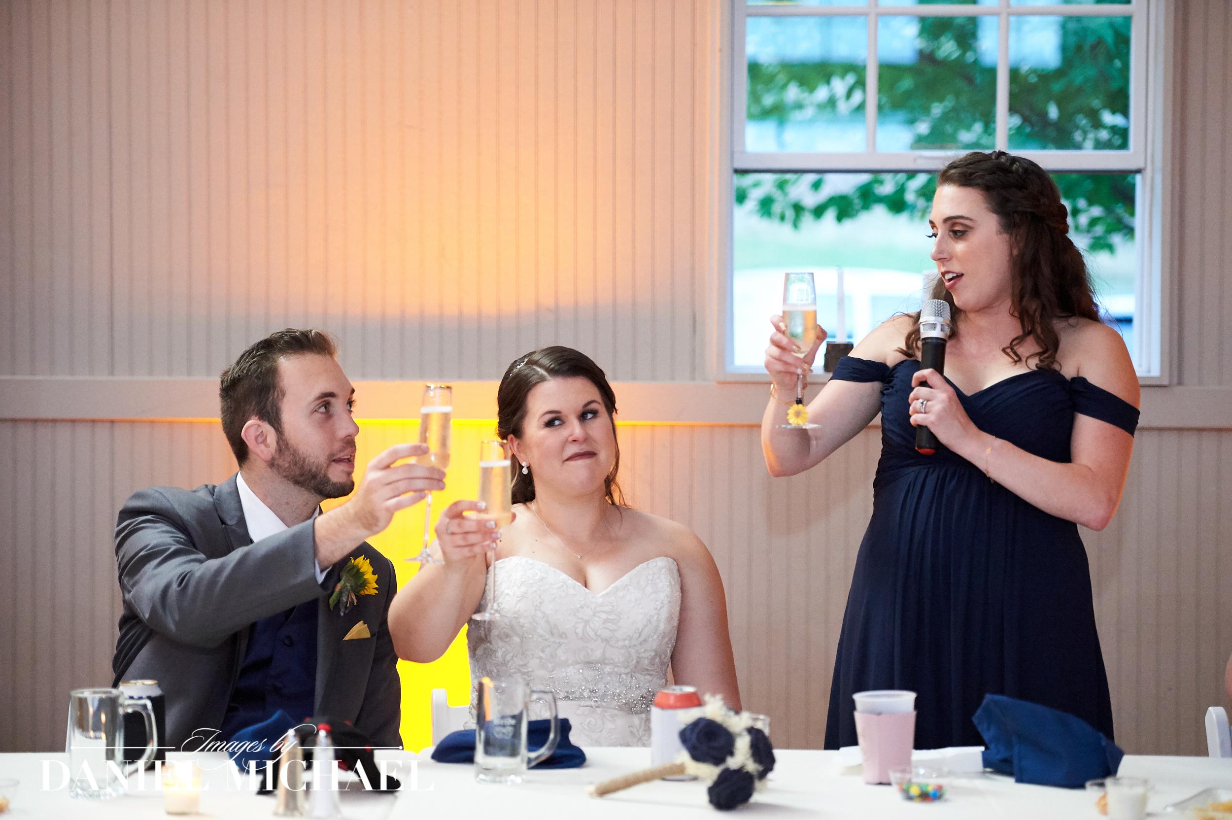 Wedding Toast Photographers