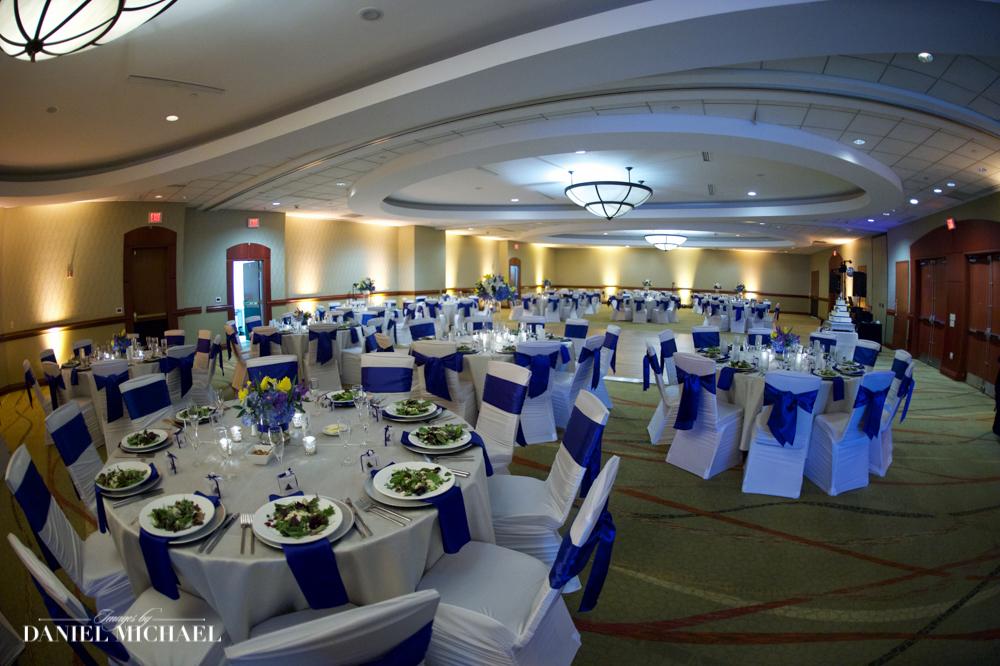 Marriott River Center Wedding Reception