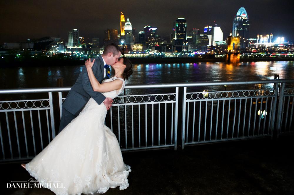 Wedding Photography Cincinnati Skyline