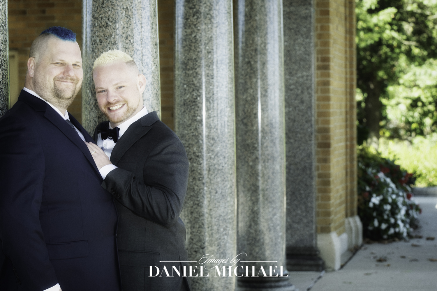 Gay Wedding Portrait LGTBQ
