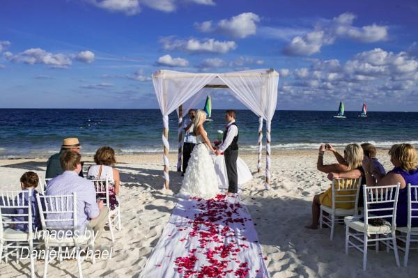 Destination Wedding Ceremony Cancun Mexico