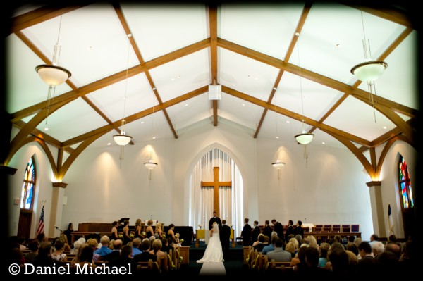 Faith United Methodist Wedding Photography
