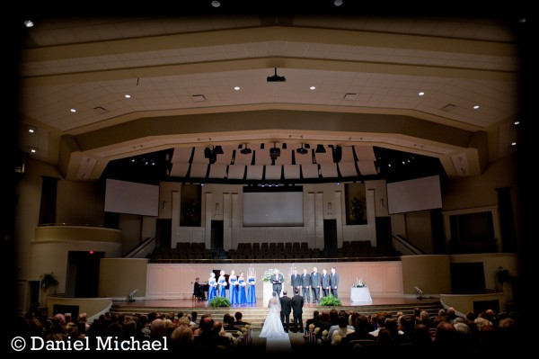 Florence Baptist Wedding Ceremony