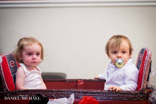 Flower Girls in Wagon Photos