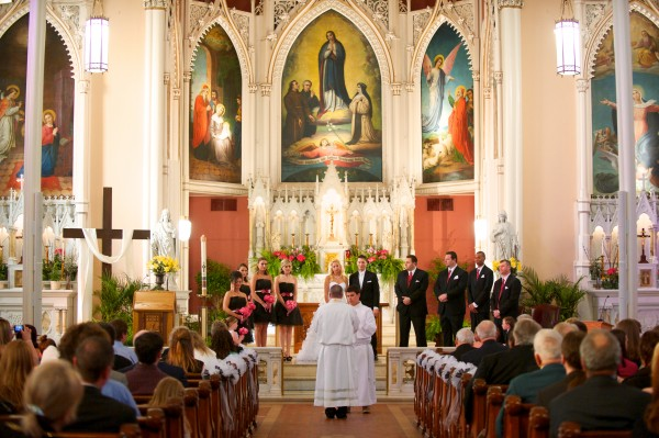 Holy Cross Immaculata Wedding Ceremony