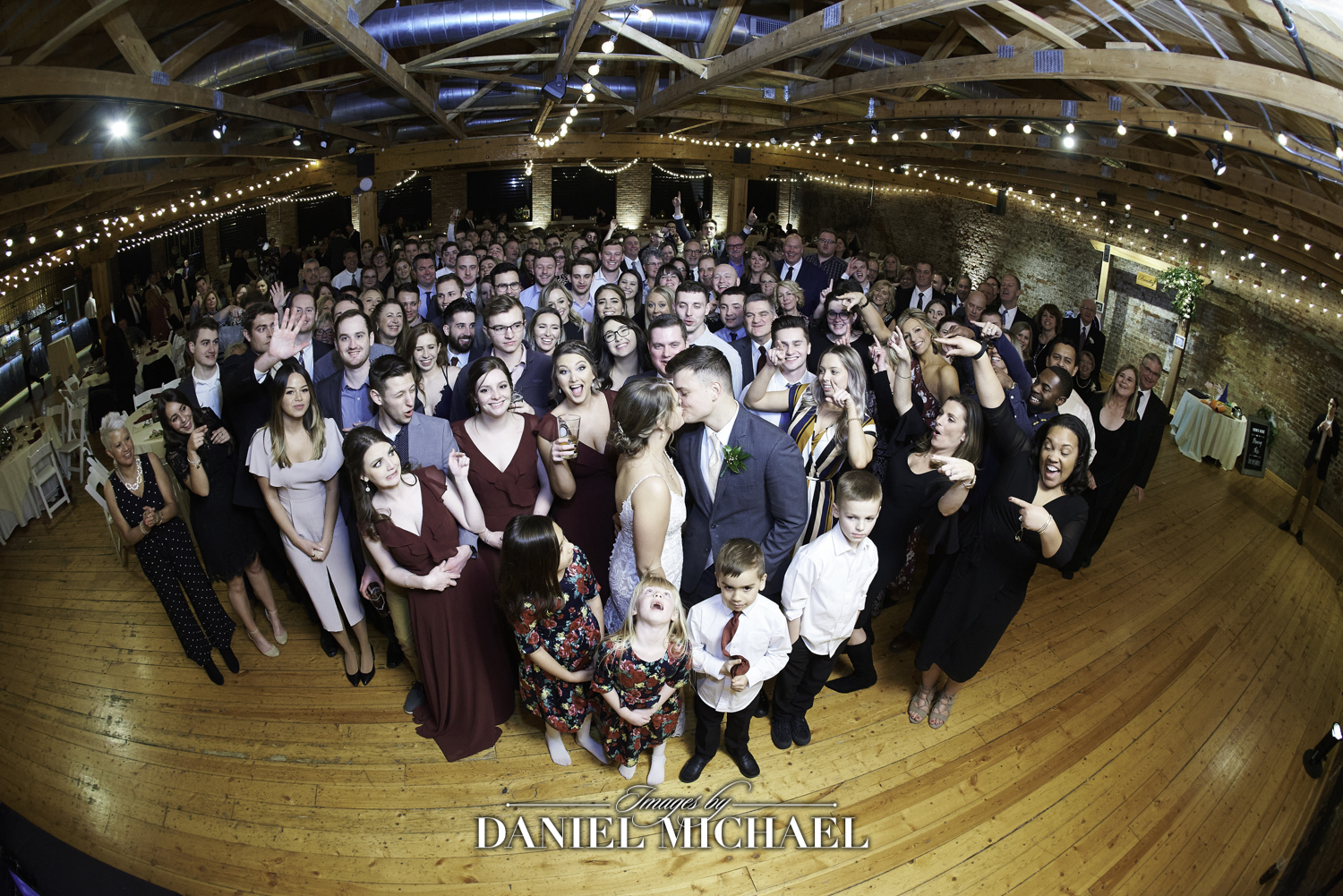 Party Pleasers Wedding Group Photo