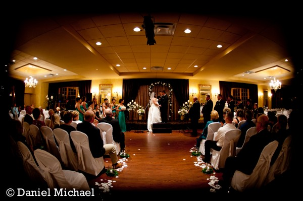 Indoor Wedding Ceremony Madison Grand Ballroom