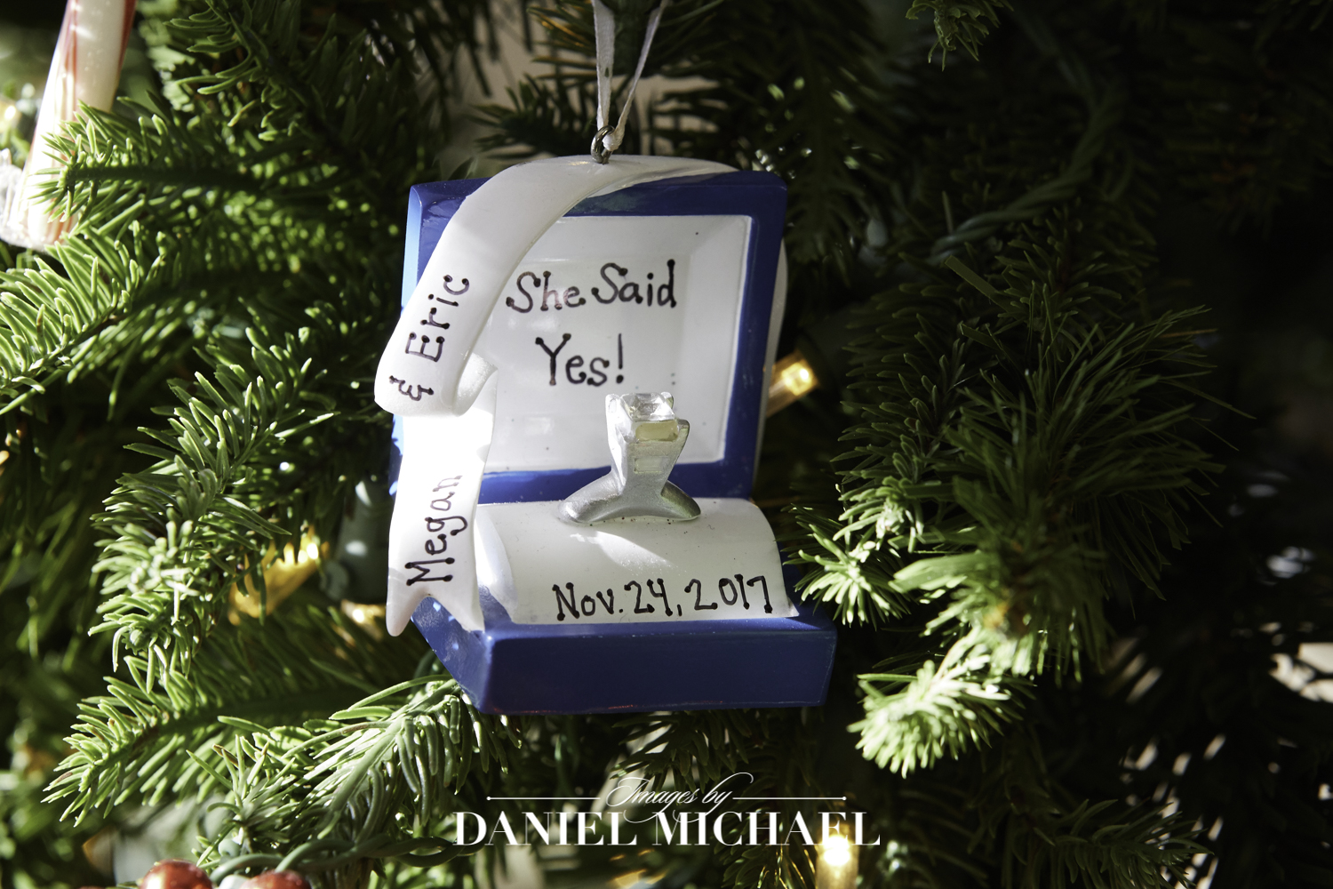 First Year Wedding Ornament